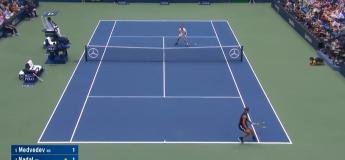 Revoir la finale entre Rafael Nadal et Daniil Medvedev à l'US Open 2019 (vidéo)