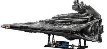 Lego lance le gigantesque modèle Imperial Star Destroyer