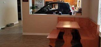 Floride : Un homme place un Smart dans sa cuisine pour la protéger de Dorian