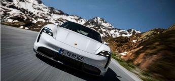 Porsche dévoile sa sportive 100% électrique Taycan à Berlin