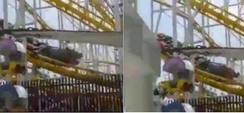 Deux hommes sont morts lorsqu'un wagon de montagnes russes déraille et s'enfonce dans le sol (vidéo)