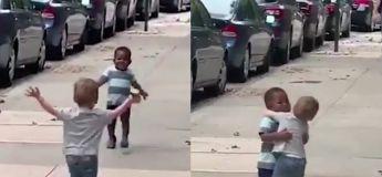 Préparez-vous, cette vidéo de ces deux adorables petits garçons va vous réchauffer le cœur