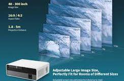 Le projecteur intelligent Alfawise Q9 BD1080P à haute luminosité et écran 4K en promotion