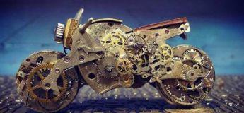 Cet artiste donne une nouvelle vie aux montres anciennes en créant des pièces très artistiques