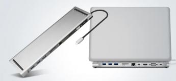 Le super dock et hub USB Type-C pour ordinateur portable Gocomma «11 en 1»