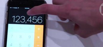La vidéo d'une astuce sur la calculatrice d'une  iPhone a fait le buzz