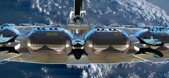 Voici un aperçu de ce que serait le premier hôtel dans l'espace