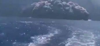 Voici une vidéo spectaculaire lors de l'éruption du volcan Stromboli en Italie