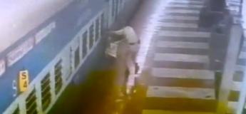 Ce policier sauve un homme traîné par un train