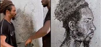Le talent de ce peintre ressemble à une sorte de magie
