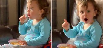 Découvrez la réaction de cette petite fille de deux ans en voyant Bruce Banner se transformer en Hulk