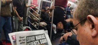 Ces images vous feront réfléchir à deux fois avant de prendre le train