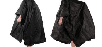 Bon plan contre la pluie : Le Poncho imperméable avec capuche et sac de transport !