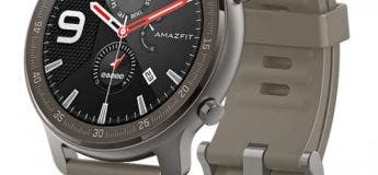 Promotion sur les montres connectés Amazfit GTR de taille 42 et 47 mm (version  Zirconia & Titanium)