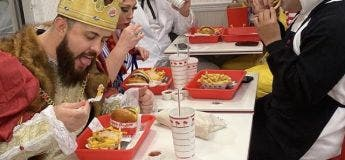 Le clin d'oeil fast food pour Halloween