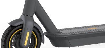 NEW : La trottinette électrique Ninebot Kickscooter Max G30 : 30 km/h et 60 km d'autonomie !!