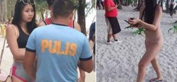 Aux Philippines, une femme en vacances a été arrêtée pour avoir porté un bikini string