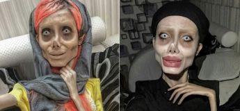 Accusée de blasphème pour avoir voulu ressembler à Angelina Jolie ?