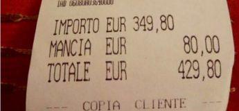 Deux touristes Japonaises ont payé 430 euros dans un restaurant pour deux spaghettis et un poisson