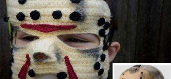 Chaque année, cette femme conçoit des costumes en crochet uniques pour ses enfants