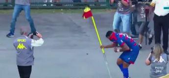 Brésil : Dani Alves piqué par des guêpes en plein match
