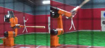 Un robot qui joue parfaitement du Baseball sans rater aucune balle, c'est fou !