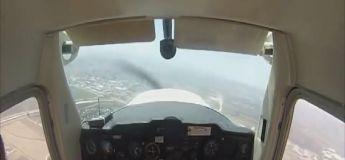 Ce pilote a le sang froid face à cette panne technique de l'avion et se pose en catastrophe