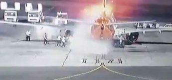 Égypte : un avion prend feu avec 196 personnes à bord à l'aéroport de Charm el-Cheikh