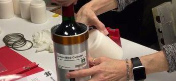 Cave à vin dans l'espace : 12 bouteilles arrivent pour une année de vieillissement