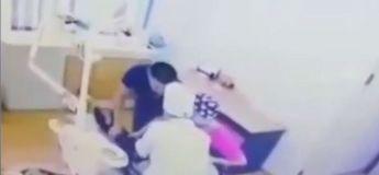 Vidéo choquante : un dentiste agresse un enfant de 7 ans terrifié pour lui enlever une dent