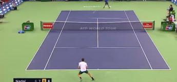 Federer et Nadal s'offrent un échange interminable de 15 minutes  (The Epic Matchpoint)