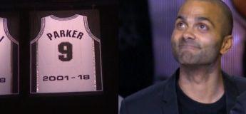 «Merci Tony», la soirée du retrait du maillot 9 de Tony Parker aux Spurs
