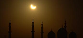Une vidéo extraordinaire de l'éclipse annulaire de 2019 depuis le haut d'un immeuble !