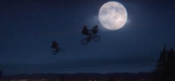 Le retour d'Elliott et E.T trente sept ans plus tard !