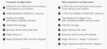 Apple dévoile le Mac Pro le plus cher à 48 000 € (53 000 $)