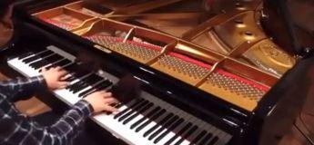 Vous allez être choqués par la rapidité des doigts de ce pianiste