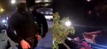 Ce motard se fait violemment arrêté par la Police Nationale parce qu'il les a filmé avec sa caméra