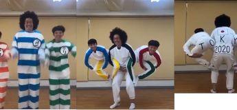 On adore cette vidéo de lancement des Jeux olympiques 2020 de Tokyo par ces trois Japonais