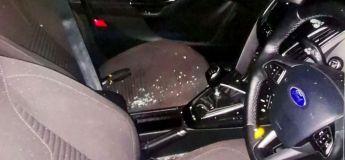 Un voleur de voiture sauvé par la police après s'être accidentellement enfermé à l'intérieur