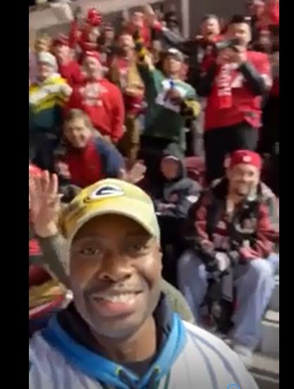 Les fans des Packers partent du match à coup de «Na na na na hey hey goodbye»