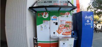 Au Japon, un distributeur fournit des pizzas chaudes en quelques minutes