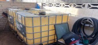 Une station-service sauvage a été trouvée dans une cour à Las Vegas