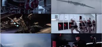 Economisez du temps en regardant 6 épisodes de Stars Wars en simultané, sur un écran unique avec cette vidéo