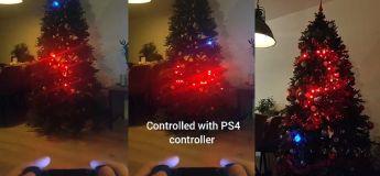Cet ingénieur, en quelque sorte, réussi à programmer les lumières de son sapin de Noël à un jeu de Snake