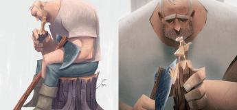 Une des meilleures histoires racontée par de belles illustrations à découvrir ici