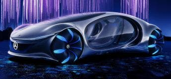 Mercedes-Benz Vision AVTR : une voiture sortie du futur et écologique !