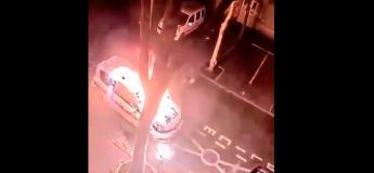 EPIC FAIL : Cet individu prend feu en incendiant une voiture de la police municipale de Colombes (Hauts-de-Seine)