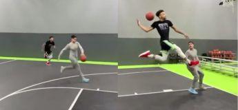 Vous allez sérieusement être impressionnés par le panier de Basket réalisé par ces talentueux basketteurs !