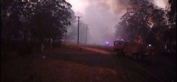 La vitesse et la férocité des incendies en Australie