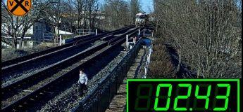 Une famille de sept personnes échappe à un terrible accident en voulant prendre des photos sur une voie ferrée